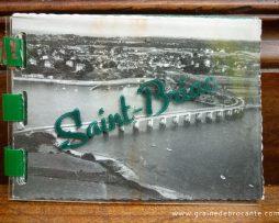 Petit carnet complet de 10 vues sur Saint-Briac, Editions Artaud