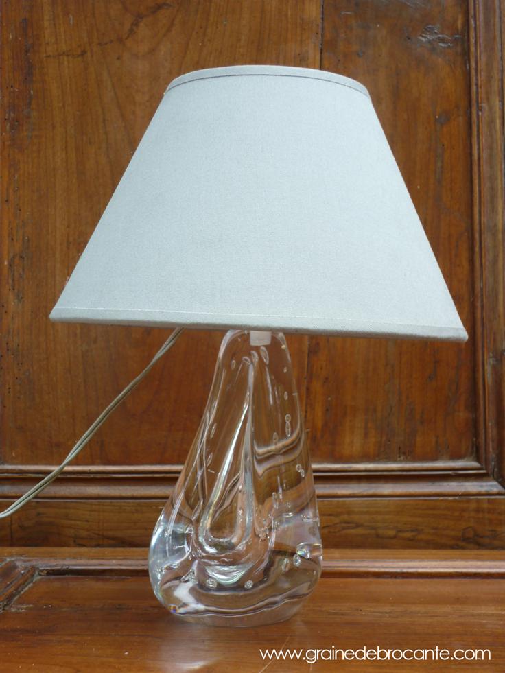 lampe en cristal avec des bulles. Black Bedroom Furniture Sets. Home Design Ideas