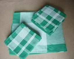 Nappe vintage et ses 12 serviettes