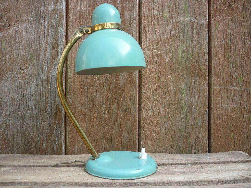 Lampe de chevet vintage ressort for Lampe bord de mer