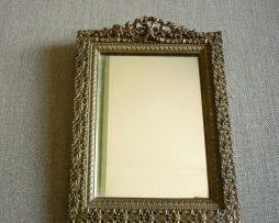 cadre laiton doré avec noeud