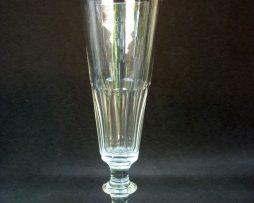 Flutes à champagne en cristal époque Napoléon III