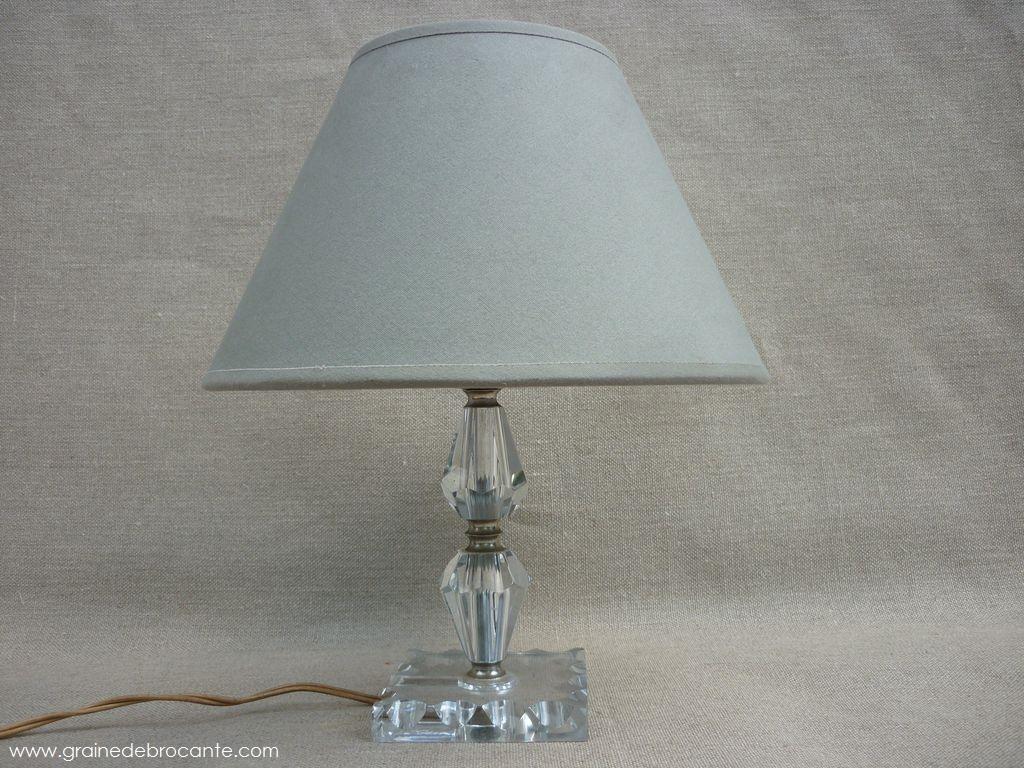 lampe cristal sign e baccarat art d co. Black Bedroom Furniture Sets. Home Design Ideas
