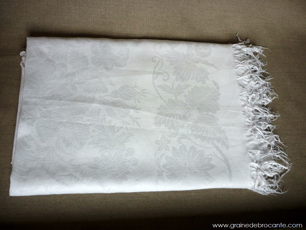 Nappe Ancienne R Ve De Brocante