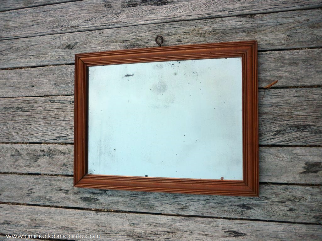 Miroir Ancien R Ve De Brocante
