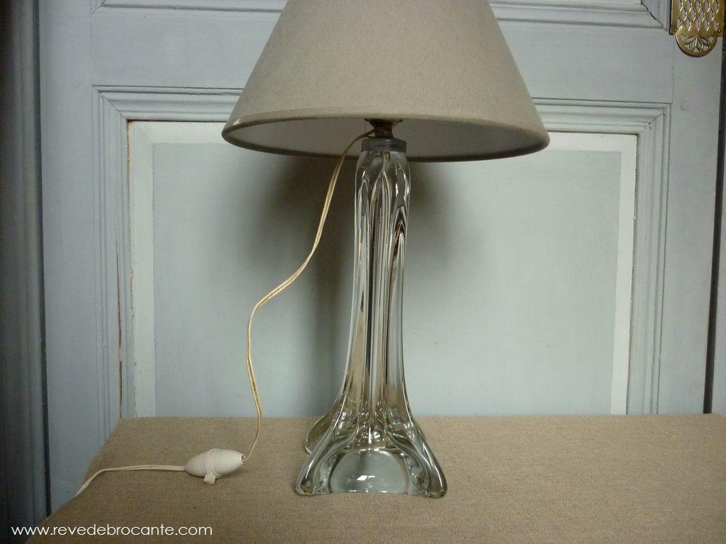 lampe en cristal ann es 40. Black Bedroom Furniture Sets. Home Design Ideas