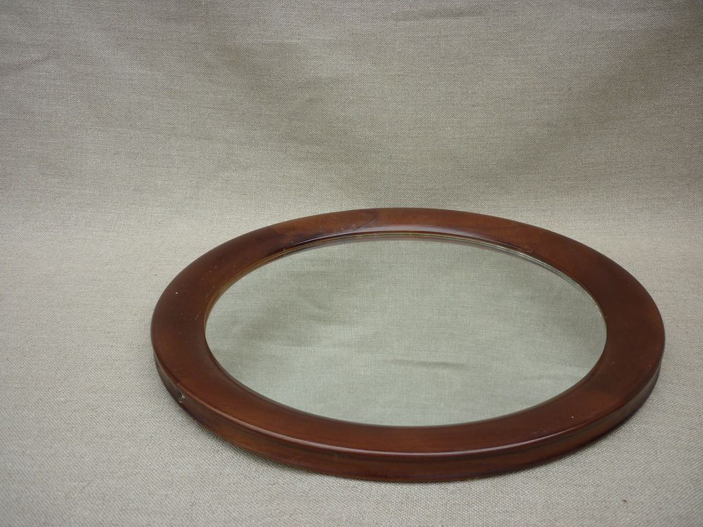 Miroir rond en bois r ve de brocante - Miroir rond en bois ...