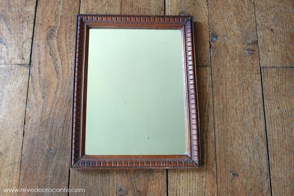 Petit miroir en bois for Miroir petit