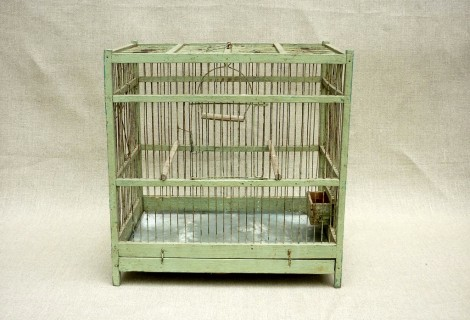 cage ancienne oiseaux r ve de brocante. Black Bedroom Furniture Sets. Home Design Ideas