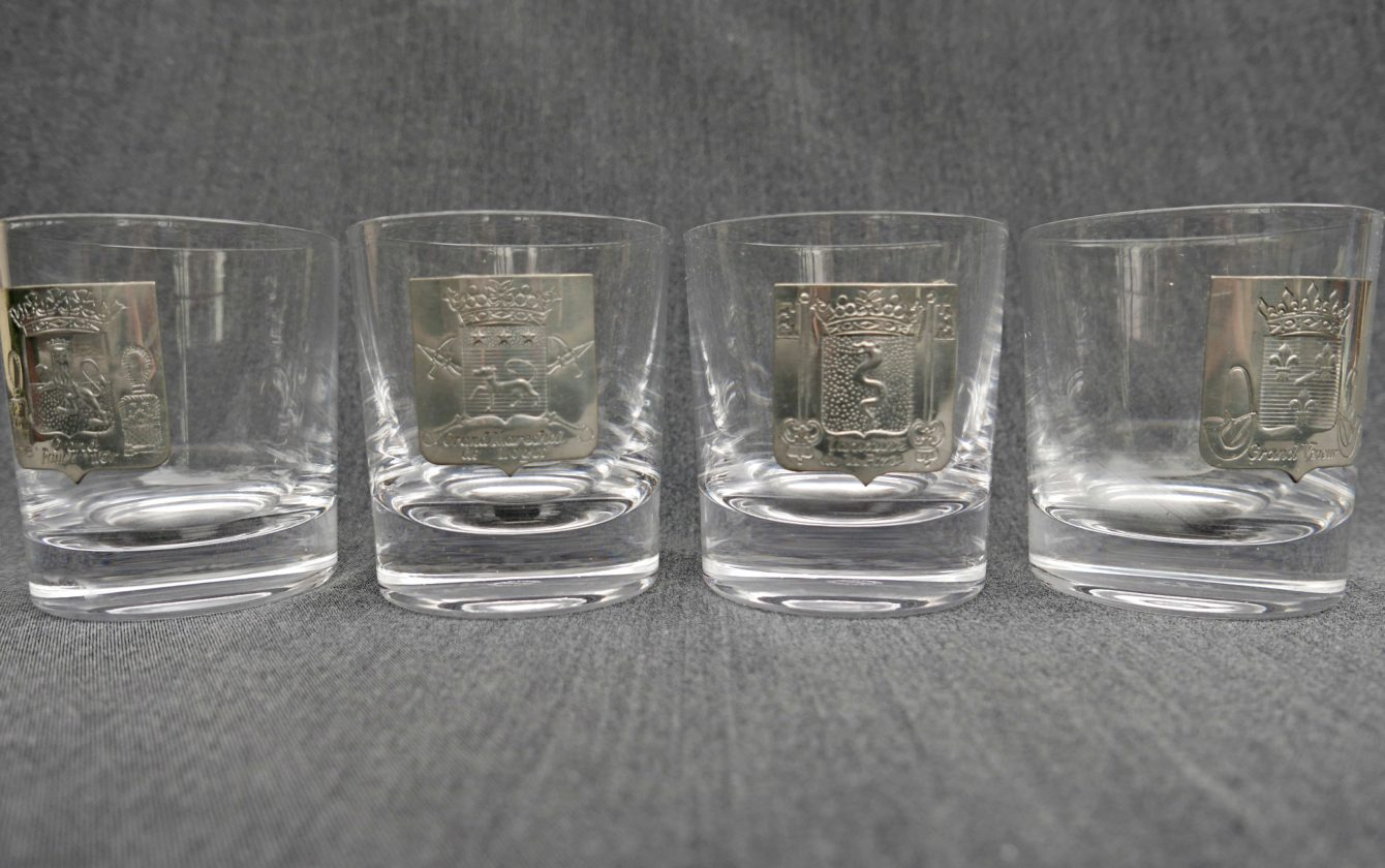 4 verres whisky en cristal de s vres r ve de brocante. Black Bedroom Furniture Sets. Home Design Ideas