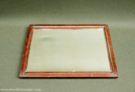 miroir ancien en bois r ve de brocante. Black Bedroom Furniture Sets. Home Design Ideas