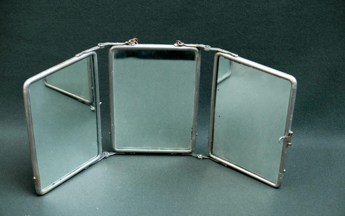 Miroirs miroir de barbier triptyque miroir de barbier triptyque - Miroir de barbier triptyque ...