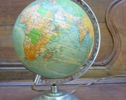 Globe ancien terrestre Perrina