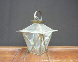 lanterne en cuivre ancienne