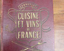 Livre ancien gastronomie