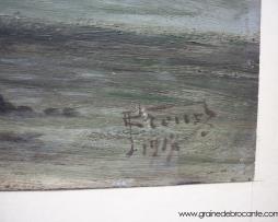 Peinture signée