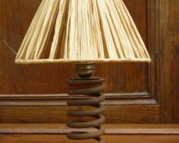 Lampe en rouille, vintage