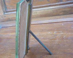 Cadre ancien laiton et bronze