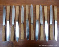 couteaux vintage