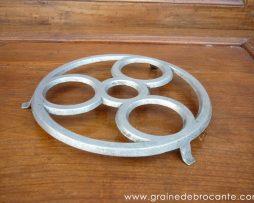 Dessous de plat aluminium