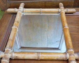 Miroir vintage - bambou