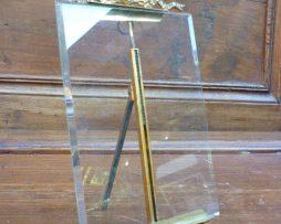 Cadre en verre à noeud louis XVI