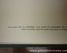Edition Prisma, chasse