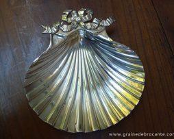 coupelle en métal argente