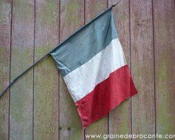 drapeau français ancien
