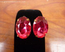 Boucle d'oreilles rose