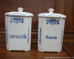 pot à sucre vermicelle