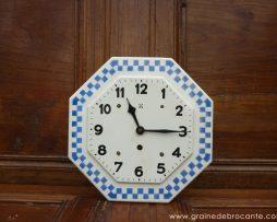 horloge en céramique Lustucru