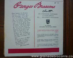 33 tours vynil Brassens - Reve de brocante