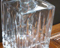 Carafon à whisky en cristal années 60