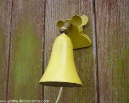 lampe de chevet à pince vintage