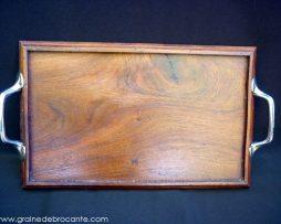 plateau en bois ancien