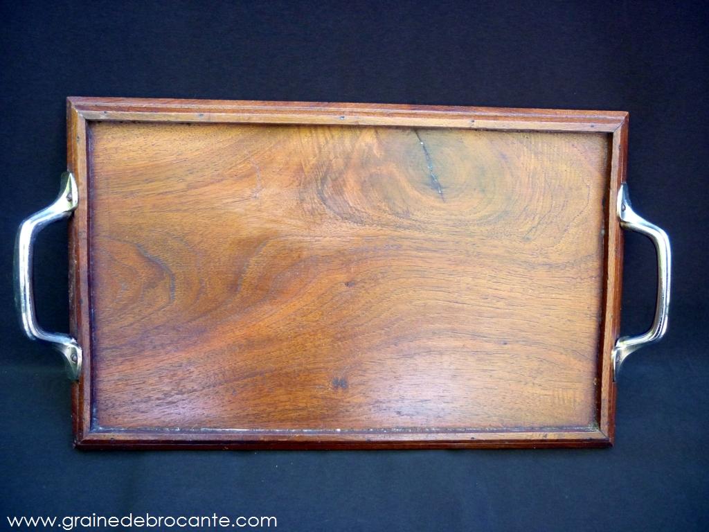 plateau en bois ancien. Black Bedroom Furniture Sets. Home Design Ideas