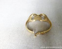bracelet plaqué or signé Nina Ricci