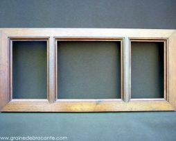cadre ancien bois