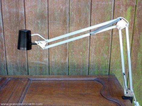 lampe bureau articulable vintage