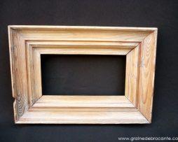 cadre en pin ancien
