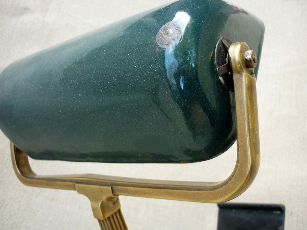 Lampe de bureau ann es 30 r ve de brocante - Lampe de bureau style anglais ...