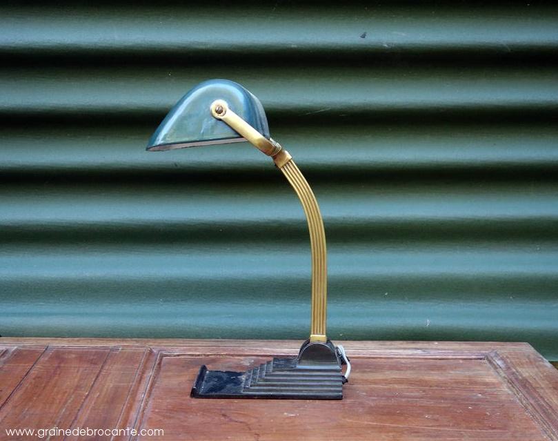 Lampe De Bureau Annees 30 Reve De Brocante