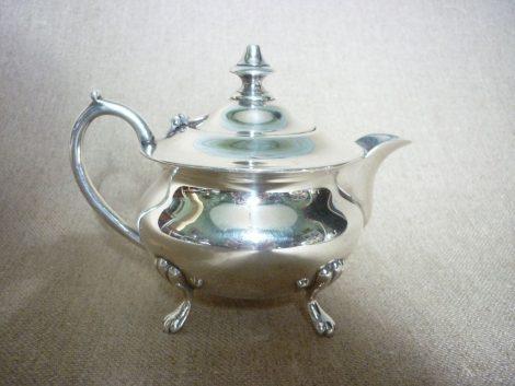 Service à thé et à café métal argenté