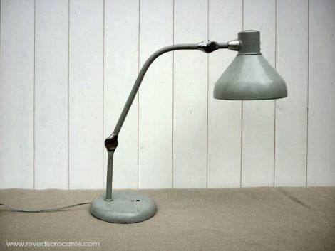 lampe d'atelier ancienne
