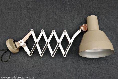lampe de bureau extensible ancienne