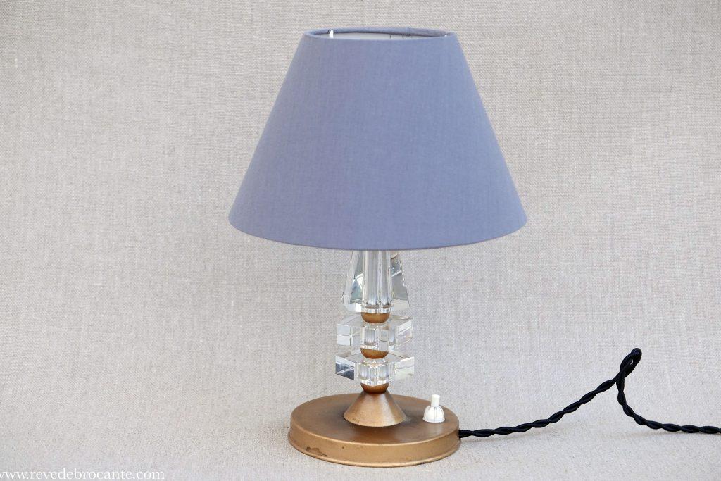 lampe ann es 40 r ve de brocante. Black Bedroom Furniture Sets. Home Design Ideas